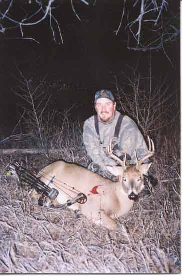 2004 Deer Justin Beach with a Whitetail buck