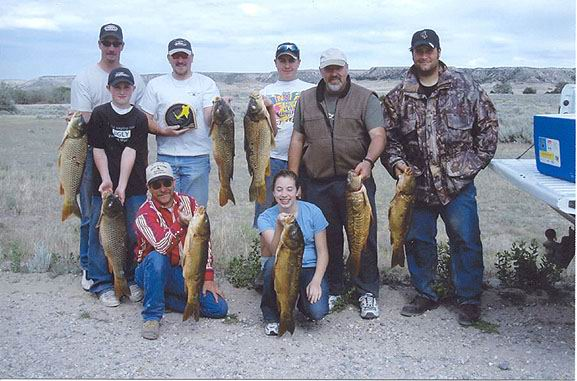 2004 Carp Shwacking Mike, Justin, Cory, Neal,