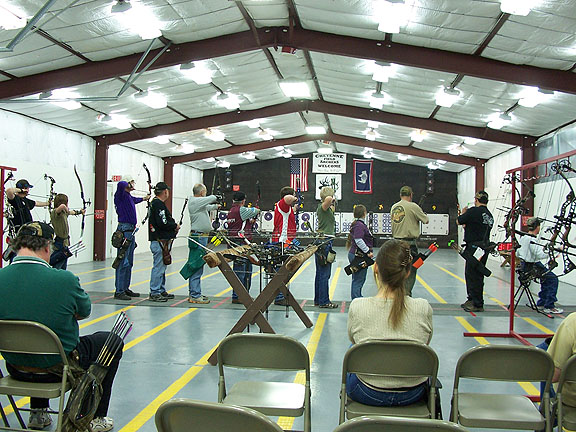 2009 State Target Shooters at the line